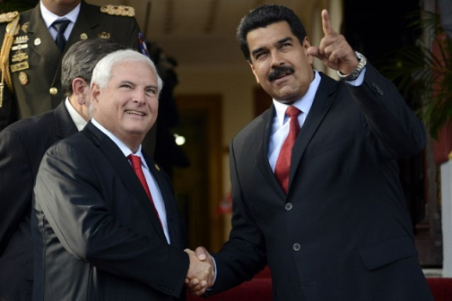 FILES-VENEZUELA-PANAMA-BREAKS RELATIONS-MADURO-MARTINELLI