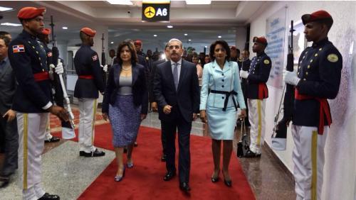 Presidente Medina partió hacia Nueva York para desarrollar una agenda hasta el próximo el miércoles 24  que incluye su participación en la 69 Asamblea General de la ONU